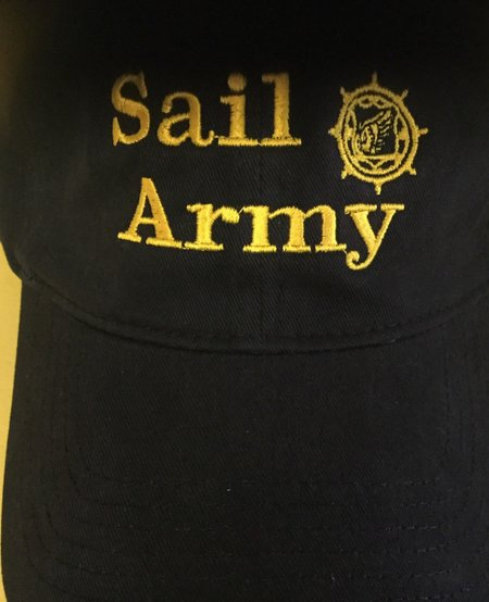 SAIL ARMY BLACK W/GOLD