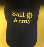 SAIL ARMY NAVY W/GOLD