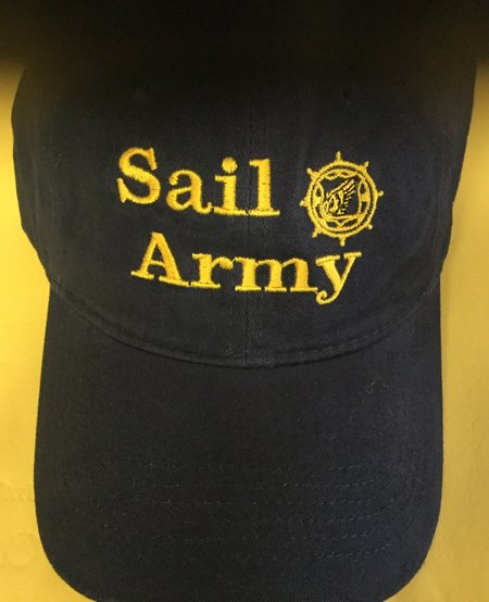 SAIL ARMY NAVY W/GOLD