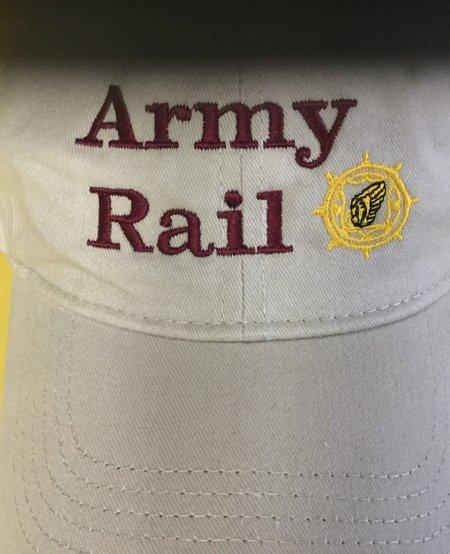 ARMY RAIL TAN W/BURG LTRS
