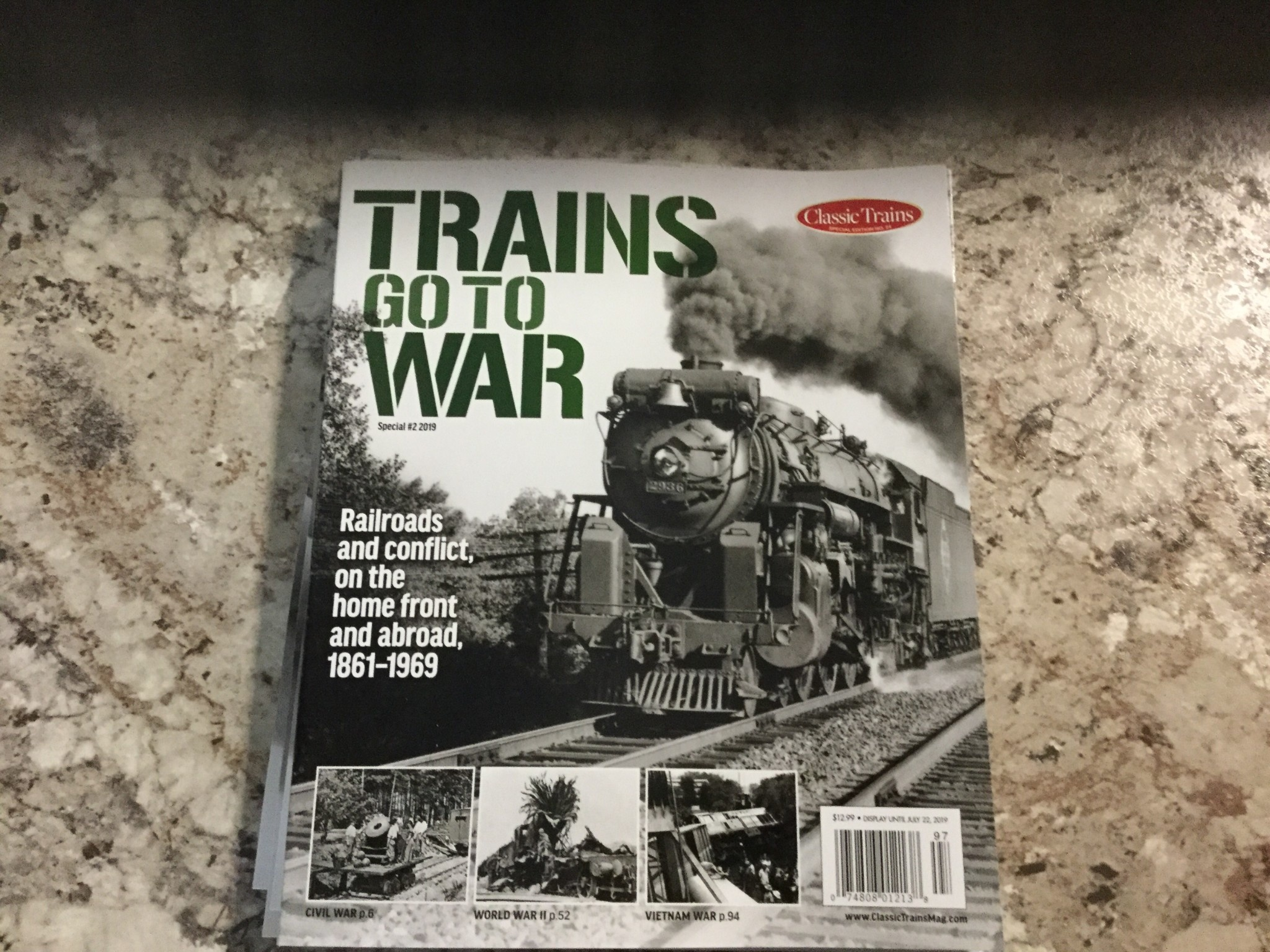 KALMBACH MEDIA CO. TRAINS GO TO WAR