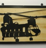 YOU PAINT METAL ART CHINOOK (CH-47)