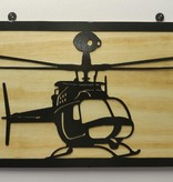YOU PAINT METAL ART KIOWA (OH-58)
