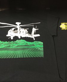AH64 APACHE LONGBOW T-SHIRT SMALL