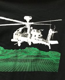 AH64 APACHE LONGBOW T-SHIRT LARGE