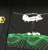CARDWELL PRINTING CH47-CHINOOK LARGE T-SHIRT