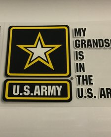 MY GRANDSON IS IN ARMY W/ STAR