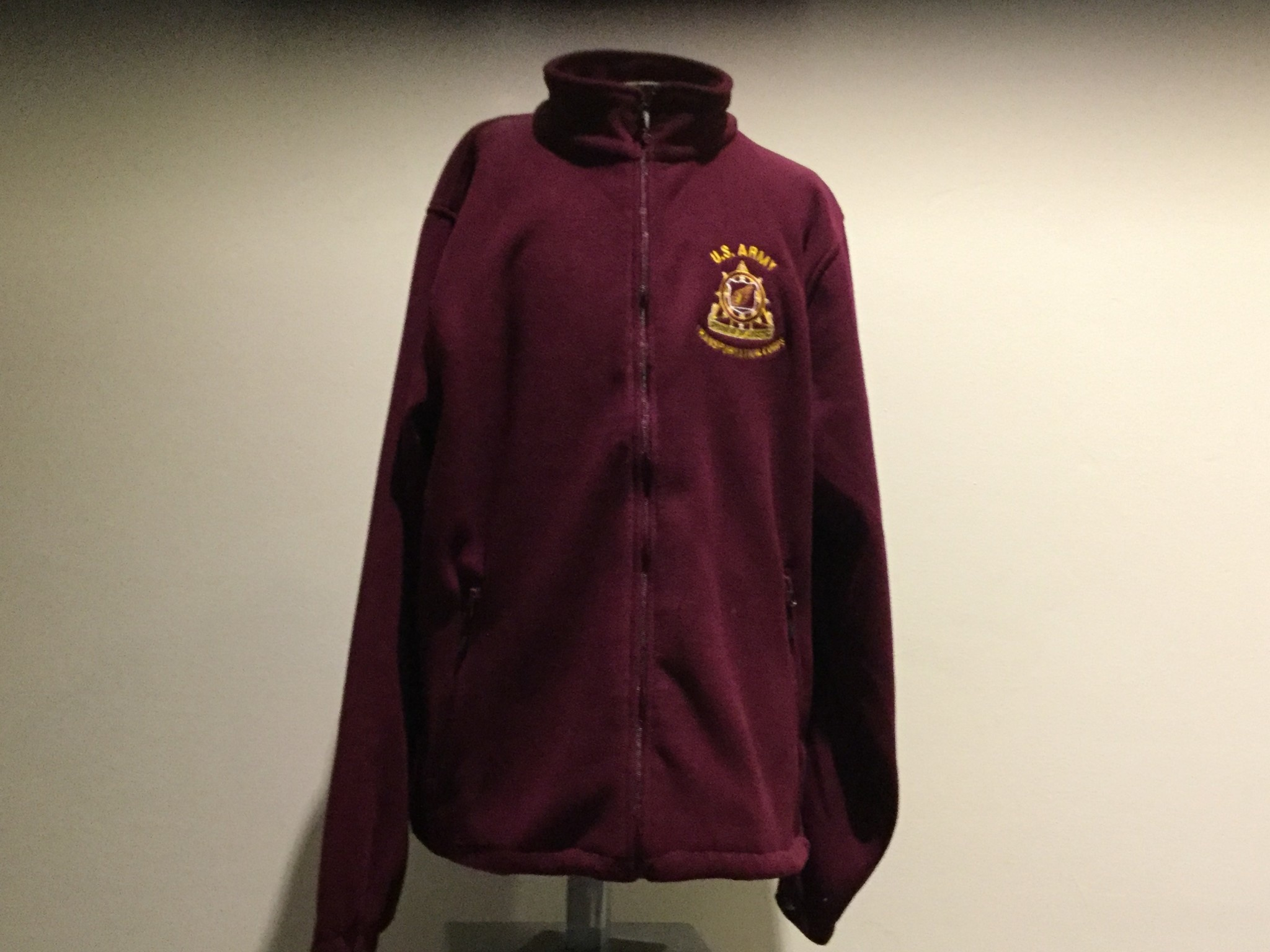 FLEECE, SPEARHEAD, BURGUNDY, 3XL