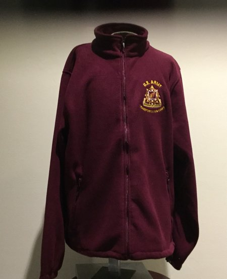 FLEECE, SPEARHEAD, BURGUNDY, L