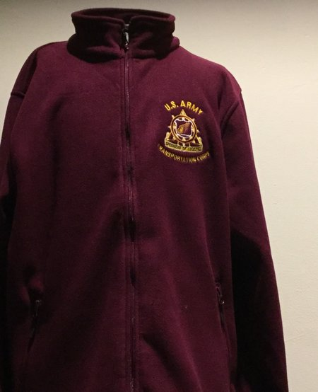 FLEECE, SPEARHEAD, BURGUNDY, M