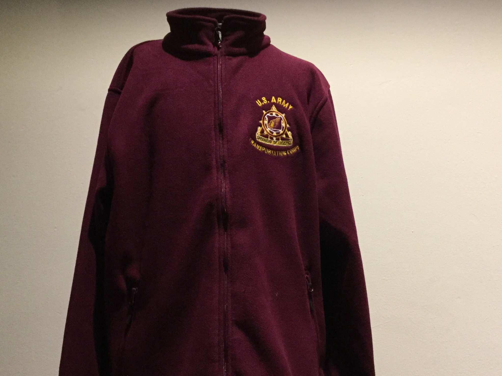 FLEECE, SPEARHEAD, BURGUNDY, 2XL