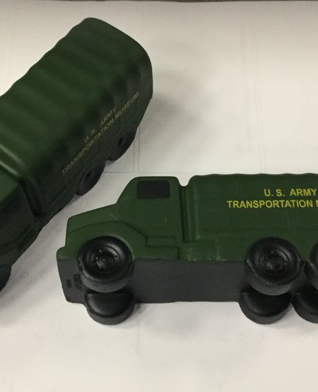 ARMY TRUCK STRESS BALL
