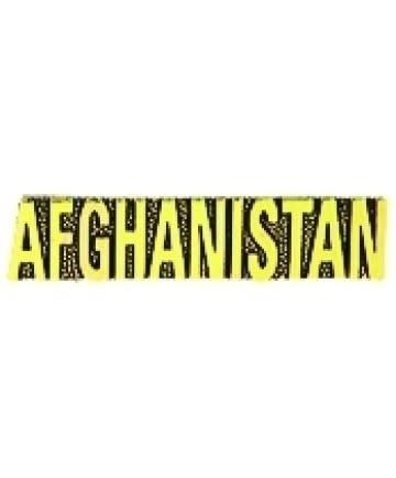 HOOVER'S MFG CO. AFGHANISTAN