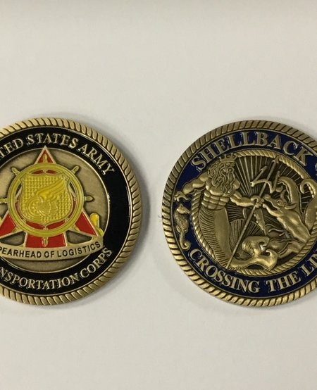 SHELLBACK/CROSSING THE LINE COIN