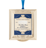 THE WHITE HOUSE ASSOC. 2020 WHITE HOUSE ORNAMENT