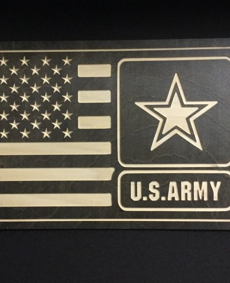 US ARMY W/ STAR