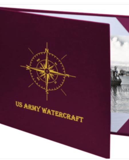 Watercraft Operator / Engineer Certificate Padded Presentation Folder