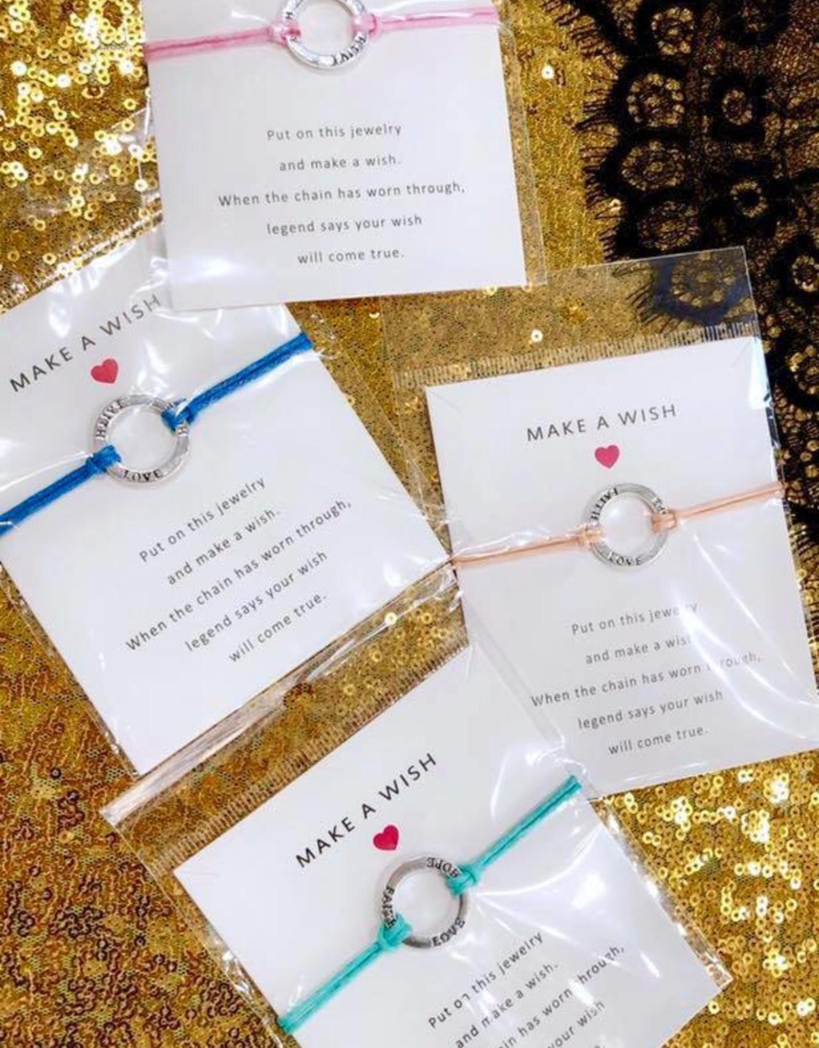 Lacey S Make A Wish Bracelet O