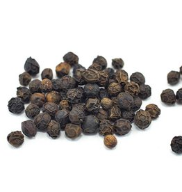 Black Peppercorns, Organic, bulk/oz