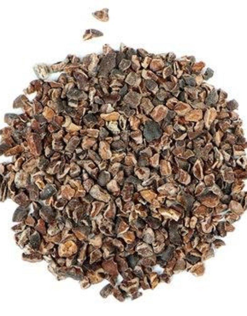 Cacao Nibs roasted organic, bulk/oz