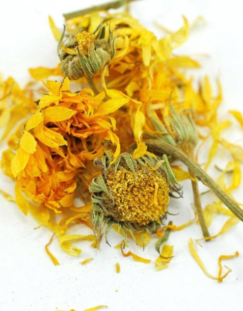 Calendula FLOWERS organic, bulk/oz