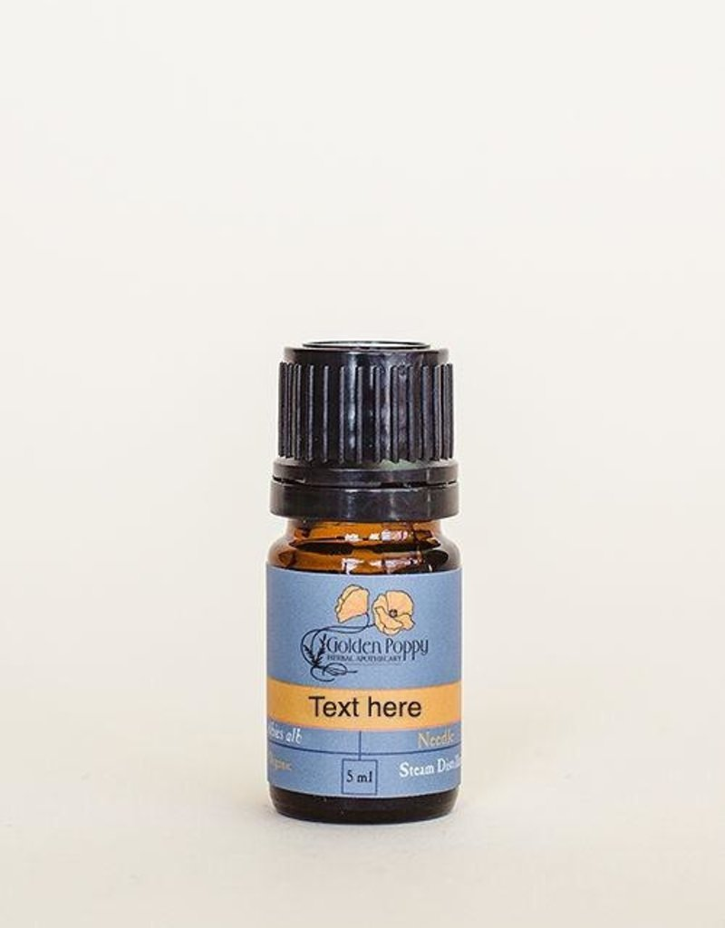 Peppermint Essential Oil, Organic 5mL