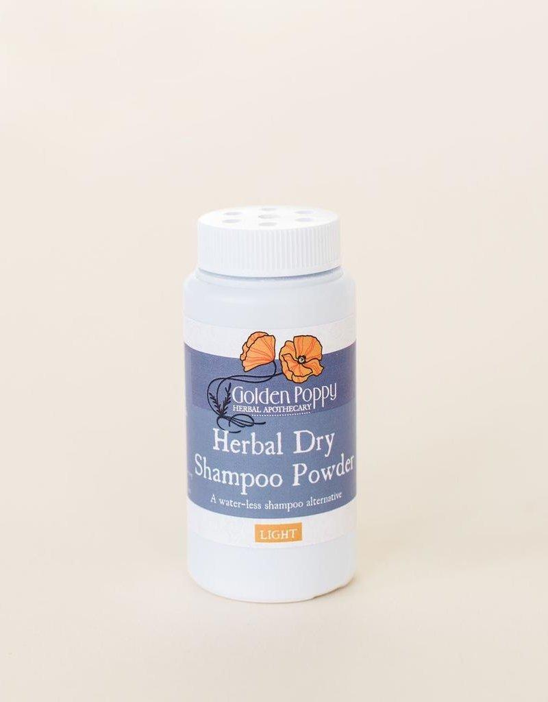 Herbal Dry Shampoo Powder, LIGHT 1 oz