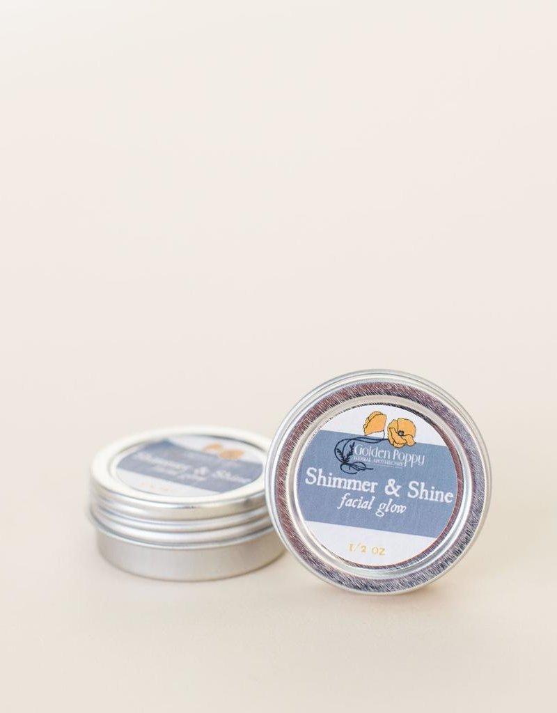 Shimmer & Shine Facial Glow, 1/2 oz