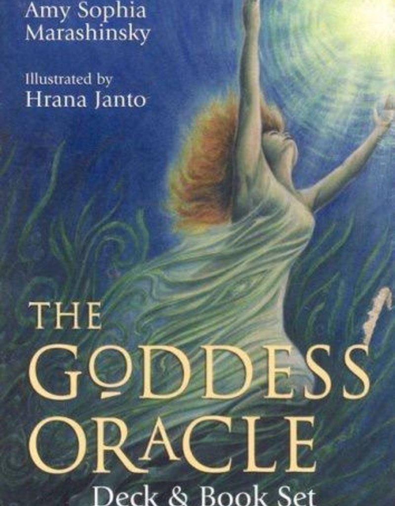 Goddess Oracle Cards & Book