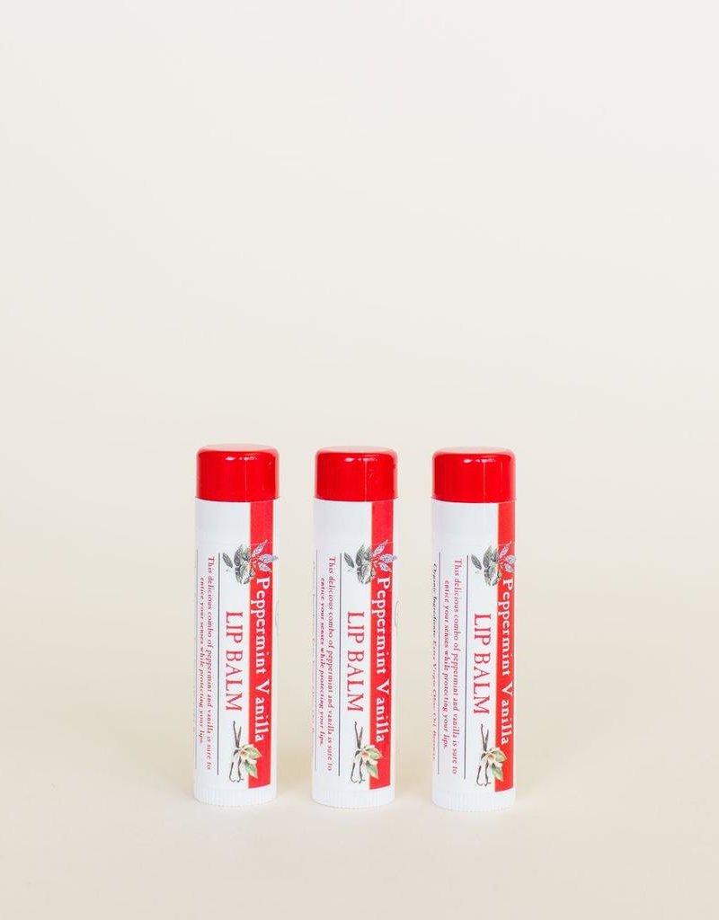 Peppermint Vanilla Lip Balm
