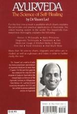 Ayurveda the Science of Self Healing - Vasant Lad