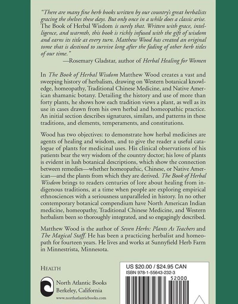 Book of Herbal Wisdom - Matthew Wood