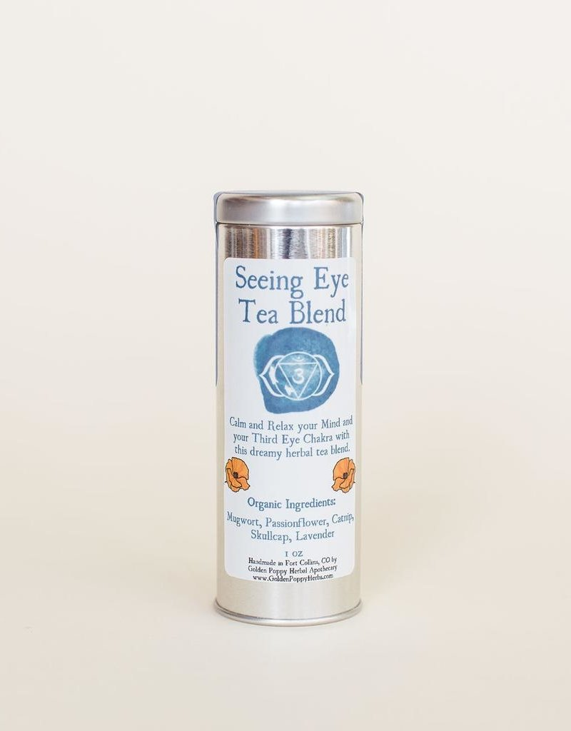 Seeing Eye Chakra Tea Tin