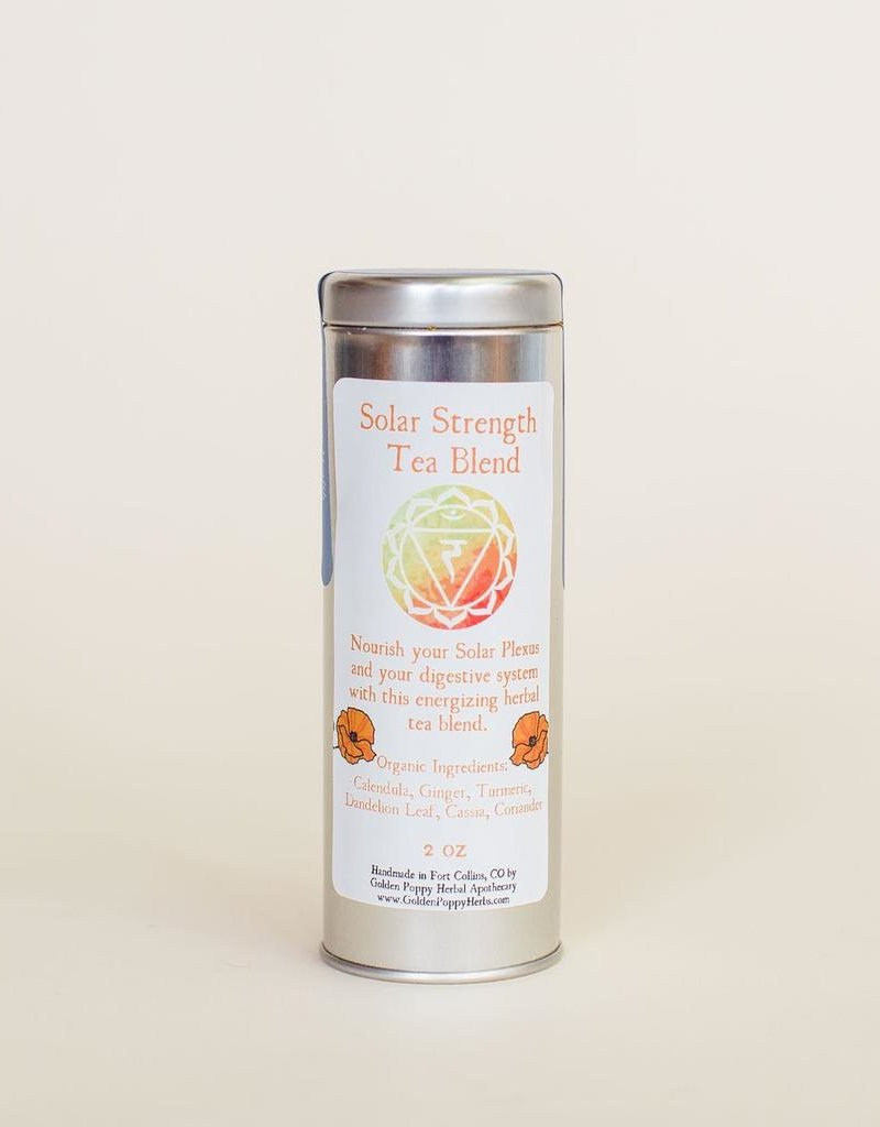 Solar Strength Chakra Tea tin