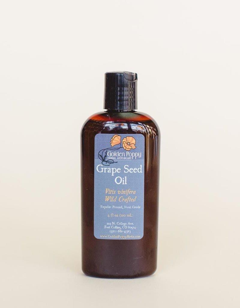 Grape Seed Oil, 4oz Bottle