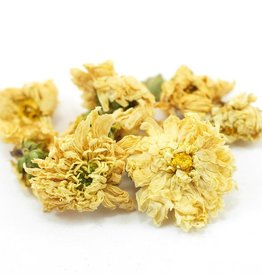 Chrysanthemum Flowers, organic, bulk/oz