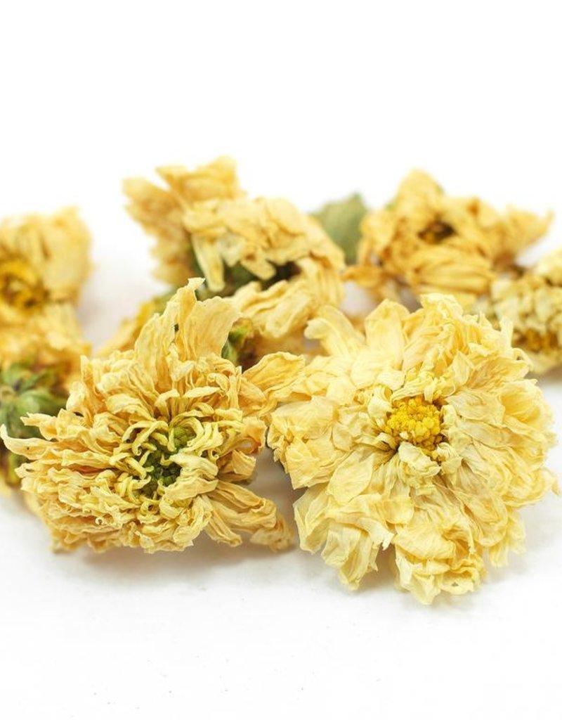 Chrysanthemum Flowers, organic, bulk/oz