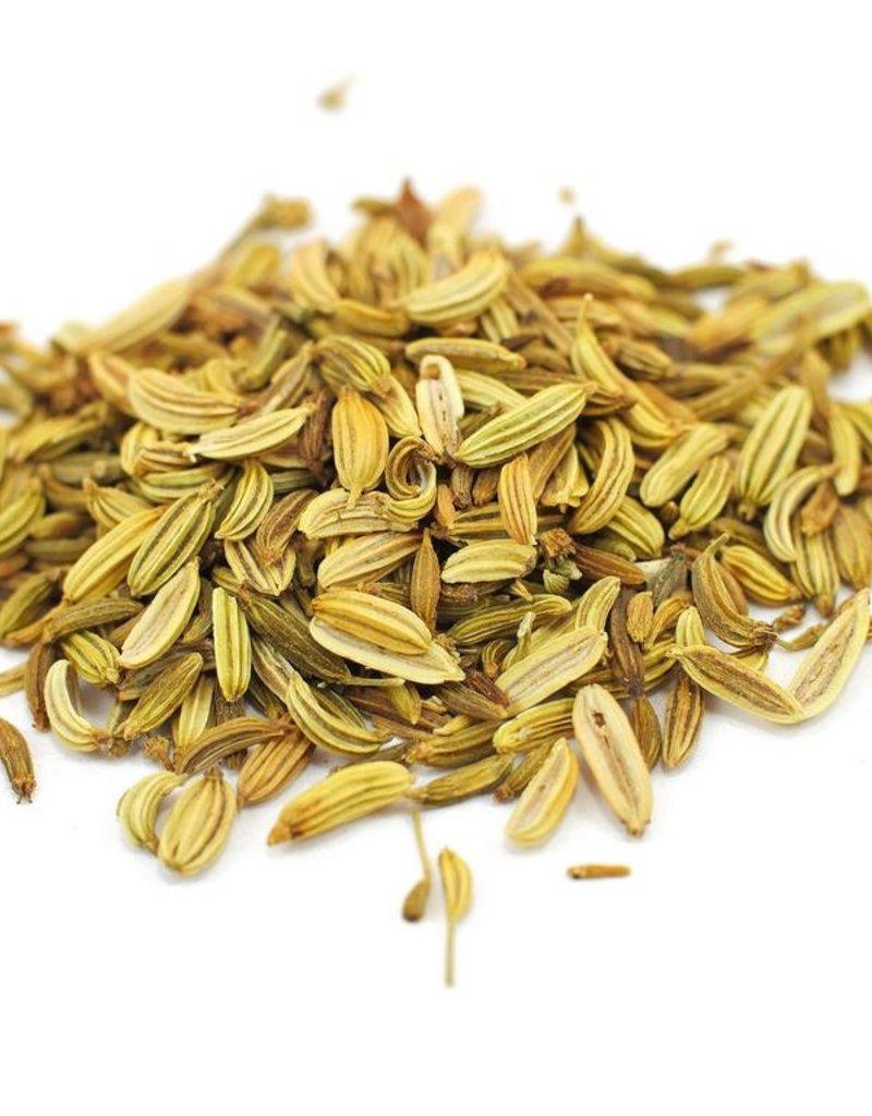 Fennel Seeds organic, bulk/oz