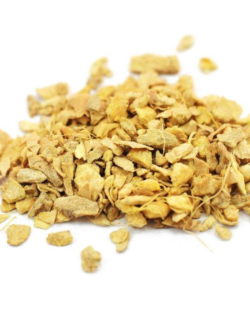Ginger root, dry, organic, bulk/oz