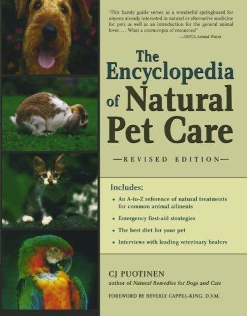Encyclopedia of Natural Pet Care - C.J. Puotinen