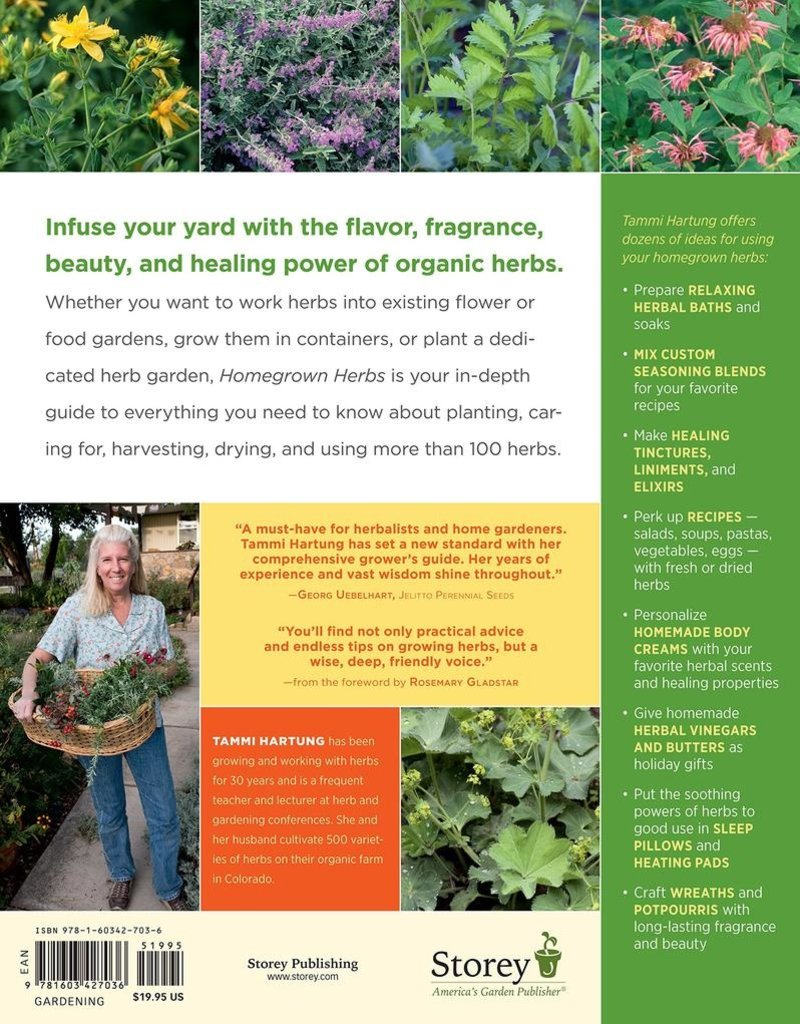 Homegrown Herbs - Tammi Hartung