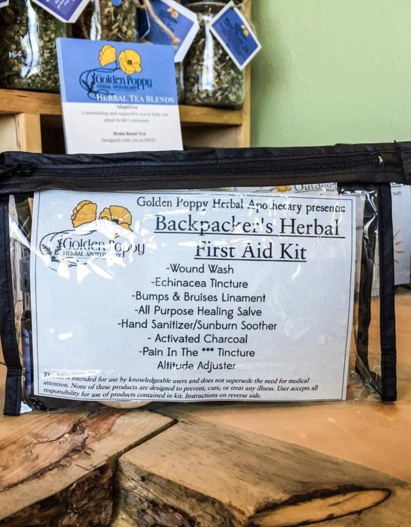 Backpacker's Herbal First Aid Kit