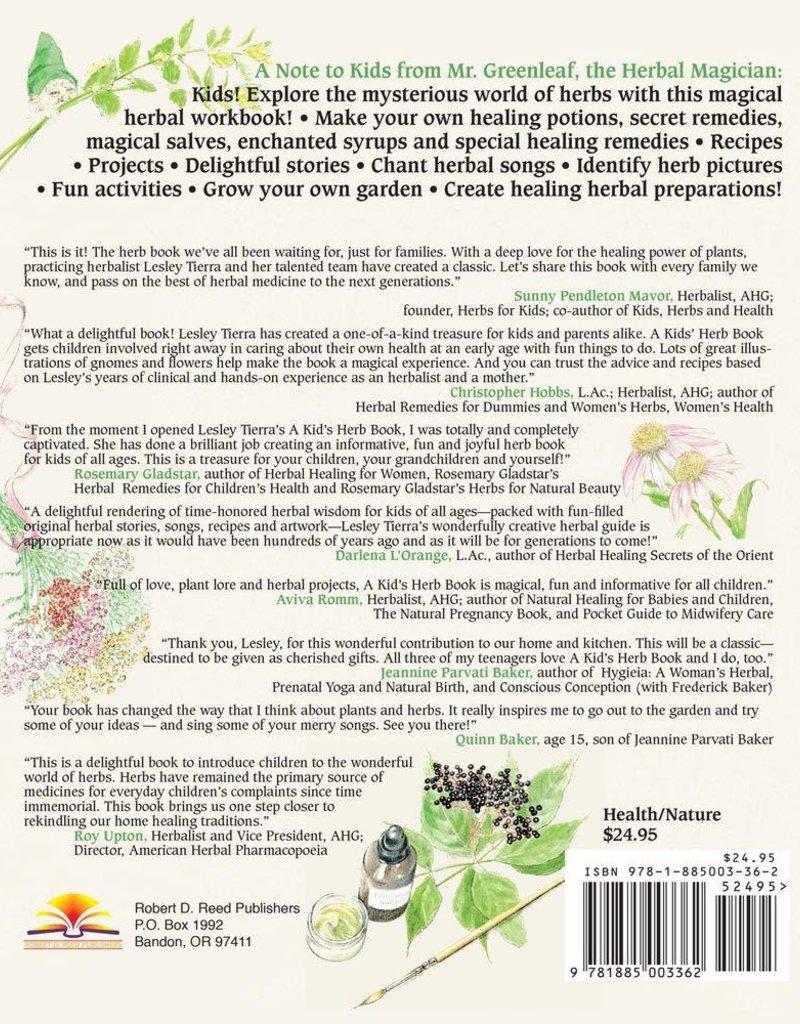 Kid's Herb Book - Lesley Tierra