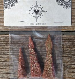 Tender Heart Incense Cones - Aroma Love