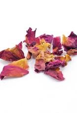 Red Rose Petals, organic, bulk/oz