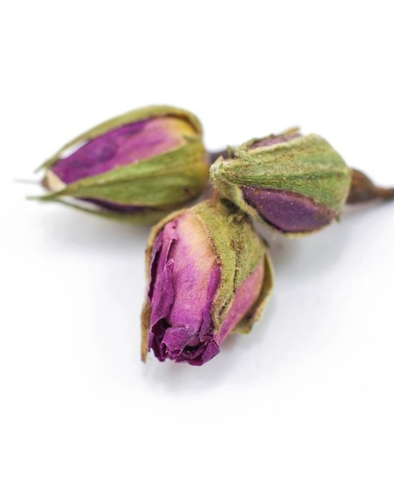 Rose Buds whole organic, bulk/oz