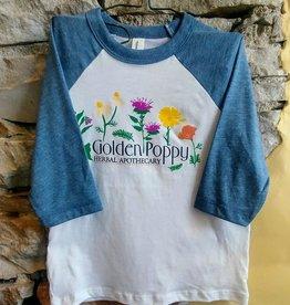 Toddler Medicinal Flowers Shirt