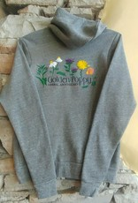 Medicinal Flowers Zip Up Hoodie