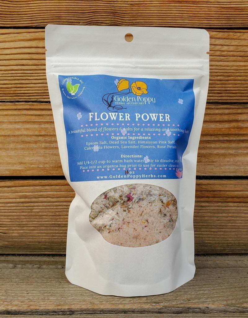 Flower Power Bath Salts, 14 oz