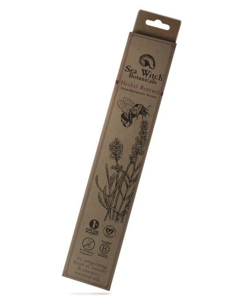 Herbal Renewal Incense, Sea Witch Botanicals